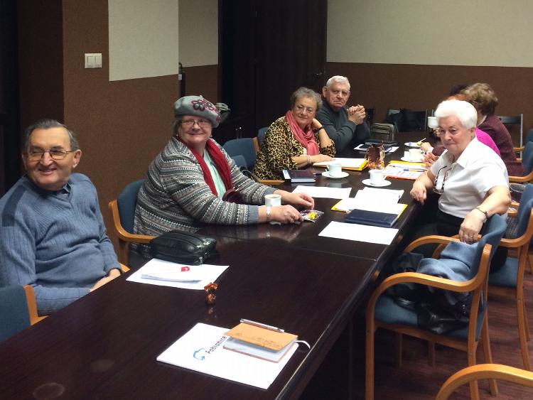 posiedzenie Miejskiej Rady Seniorów