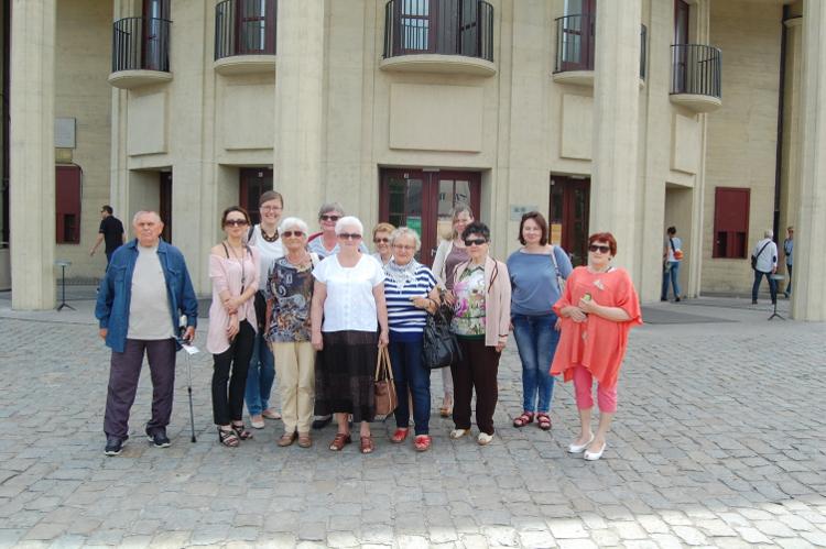 Uczestnicy wizyty studyjnej we Wrocławiu