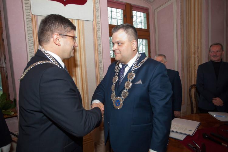 Grzegorz Mackiewicz i Krzysztof Rąkowski