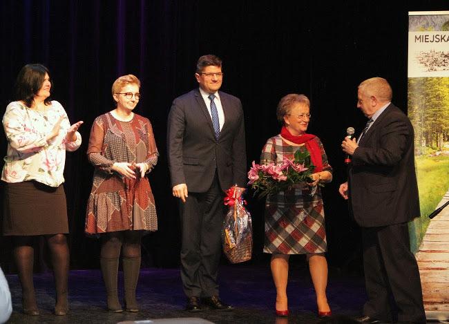 Władze Miasta dziękują Przewodniczącej Miejskiej Rady Seniorów za całoroczną pracę