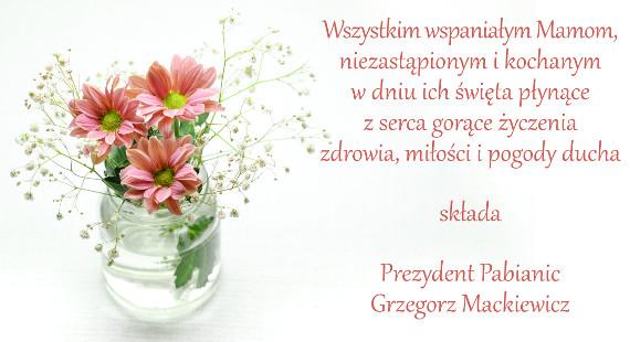 życzenia od Grzegorza Mackiewicza