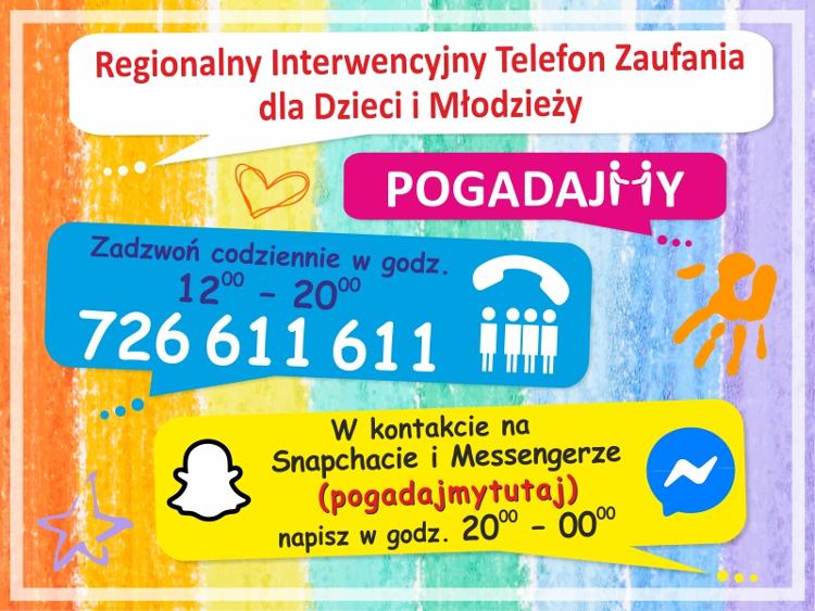 Plakat Regionalnego Centrum Polityki Społecznej w Łodzi
