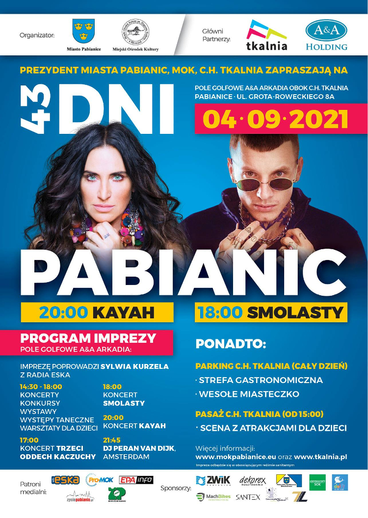 Plakat - 43 Dni Pabianic