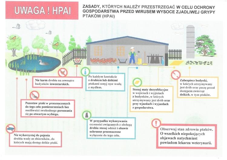 Ilustracja przdstawiajaca zasady bioasekuracji