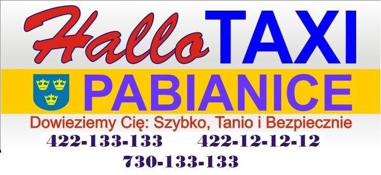 logo firmy Hallo Taxi