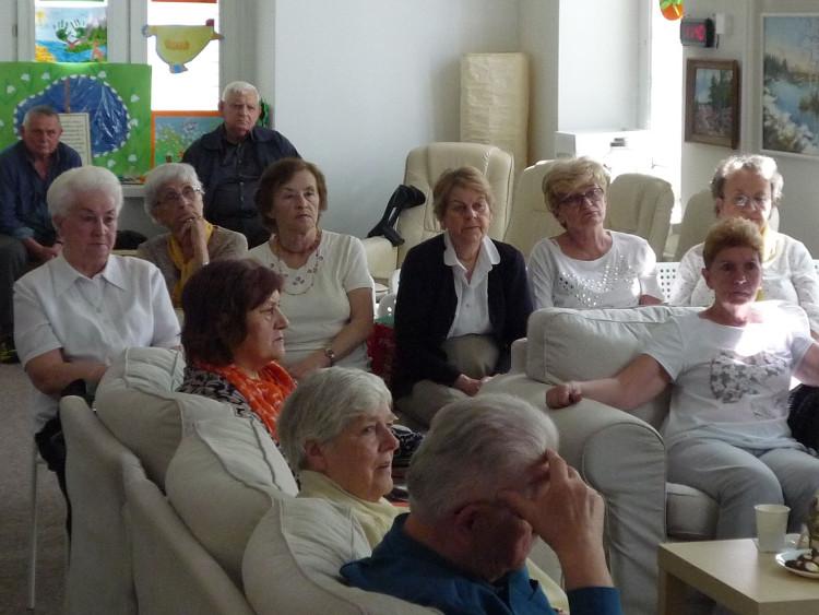 Przedstawiciele Miejskiej Rady Seniorów uczestniczący w Forum