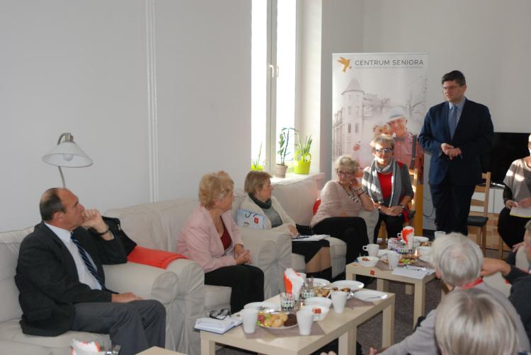 Powitanie zebranych przez Prezydenta Miasta Pabianic