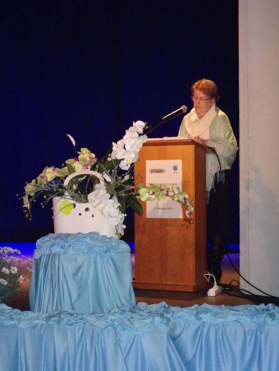 Pani Teresa Bobowicz-Siomoł opowiada o pracy Obywatelskiego Parlamentu Seniorów