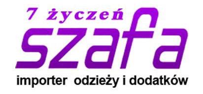 logotyp Szafa 7 życzeń Importer odzieży i dodatków