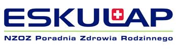 logotyp Eskulap NZOZ Poiradnia Zdrowia Rodzinnego