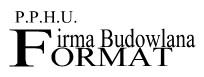 logotyp P.P.H.U Format Firma Budowlana