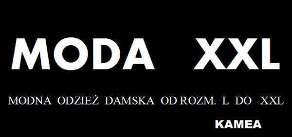 logotyp Kamea Moda XXL Modna odzież damska od rozmiaru L do XXL