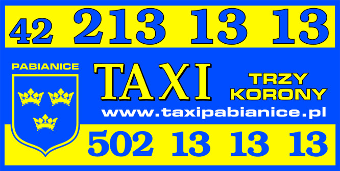 Logo Taxi Trzy Korony