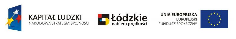 Kapitał Ludzki Narodowa Strategia Spójności, Łódzkie nabiera prędkości, Unia Europejska Europejski Fundusz Spójności