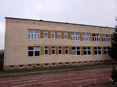 nowe okna elewacja południowa luty 2018