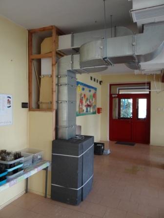 Modernizacja wentylacji kuchni i jadalni