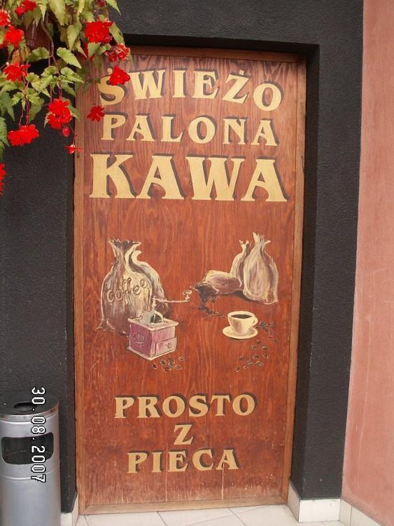 Kawiarnia Palarnia Kawy Coffee House witryna