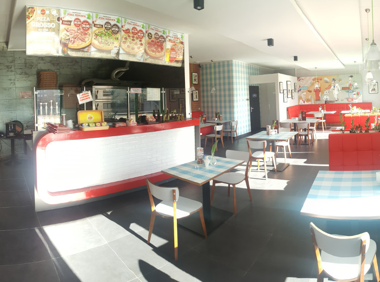 Pizzeria Da Grasso sala
