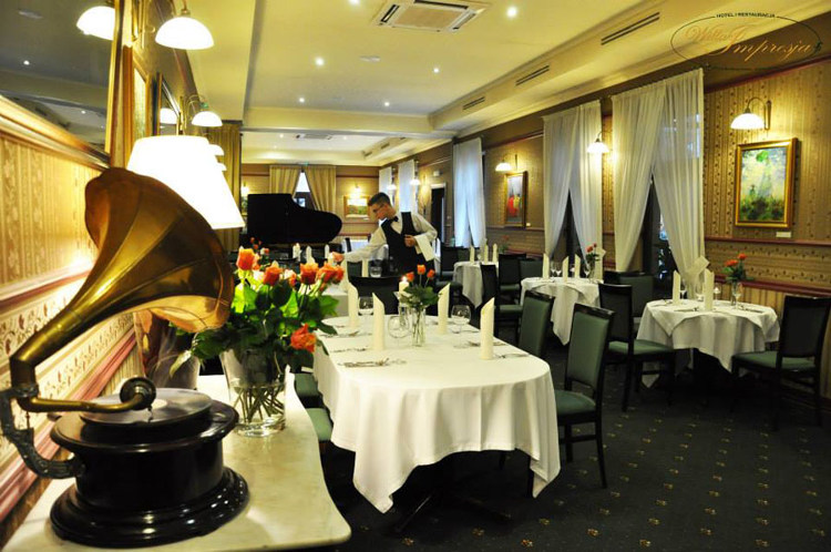 Willa Impresja Hotel i Restauracja sala