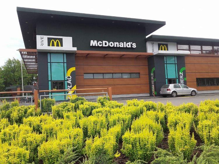 McDonald's budynek