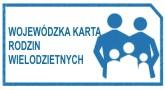 Logo Wojewódzkiej karta rodzin wielodzietnych